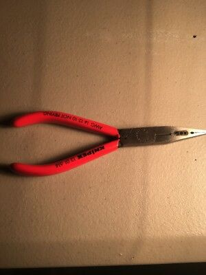 KNIPEX ELECTRICIANS LONG NOSE PLIERS KN 13 01 614  for 10/12/14 Ga Wire 1301614