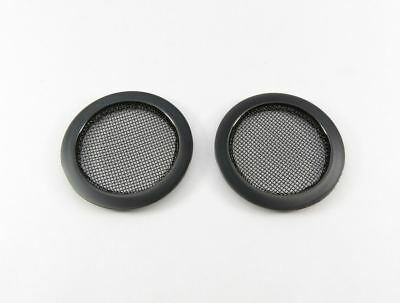 Screened Soundhole Covers Black - Large (2 Pack)