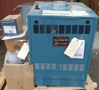 Burnham Series 2 Natural Gas 118,000 BTU Electronic Ignition,Cast Iron Boiler