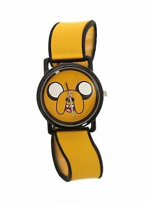 Adventure Time Jake Squiggle Yellow and Black Analog Watch