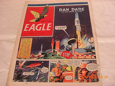 Classic Eagle Comic vol 2 no 50 from 21st Mar 1952 Dan Dare The Red Moon Mystery