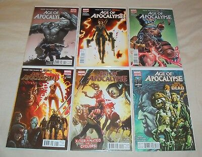 AGE OF APOCALYPSE (2012 series) Lot 1 2 3 4 5 6 Jean Grey Sabretooth Weapon X