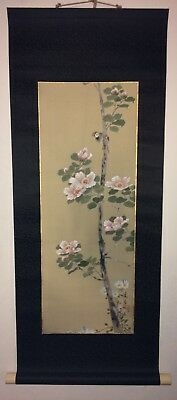 Fukazen & Co. Fine Japanese Art Silk Scroll