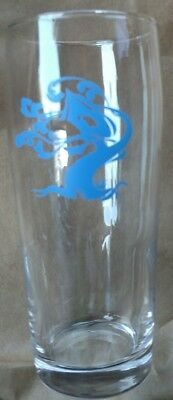 """Tree House Brewing 6.5"""" Pint Glass Rare Blue Logo Alter Ego Sold OUT!"""