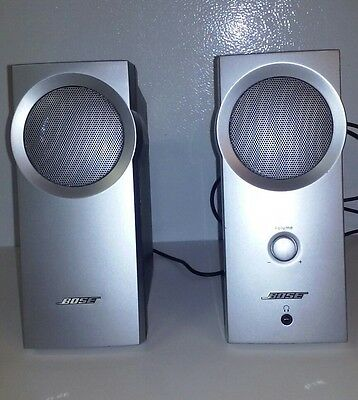 Bose Companion 2 Series I Computer Speakers Silver - Free Shipping