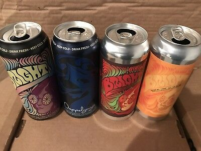 4 Doppelgänger Bright Citra Simcoe Tree House Brewing Co Beer Cans Treehouse Can