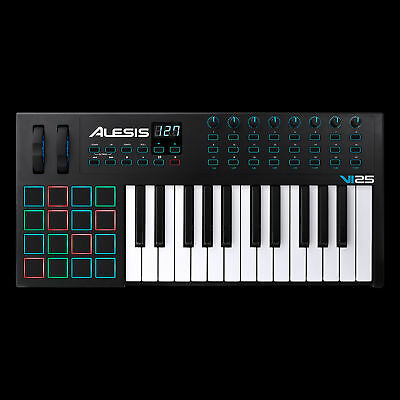 Alesis VI25 Advanced USB MIDI Pad/Keyboard Controller