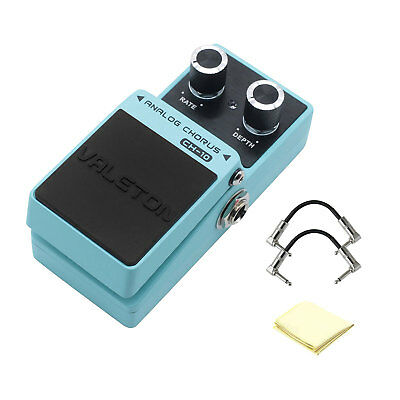 Valeton Loft CH-10 Analog Chorus Guitar Effects Pedal with 2 Path Cable & Cloth