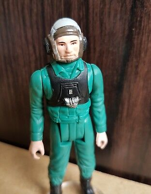 1984 Vintage Star Wars A Wing Pilot Last 17 Power of The Force POTF - No Weapon