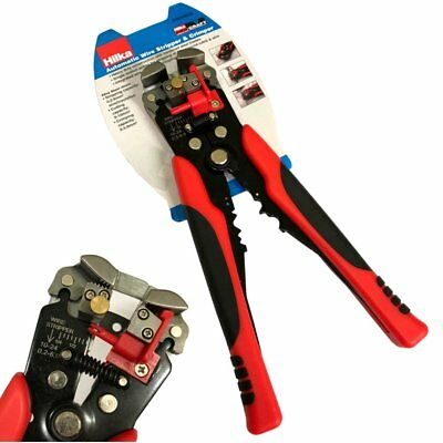 Hilka Pro-Craft Heavy Duty Automatic Wire Stripping Pliers - Crimper Strippers