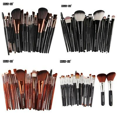 22PCS Kabuki Make up Brushes Set Makeup Foundation Blusher Face Powder Brush HOT