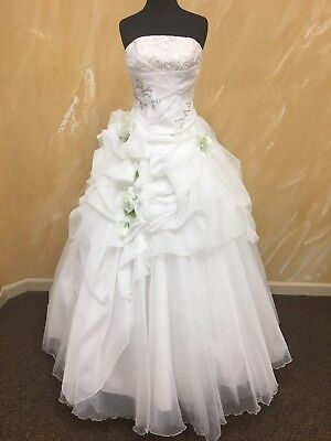 Beautiful Ball Gown - white wedding dress without train