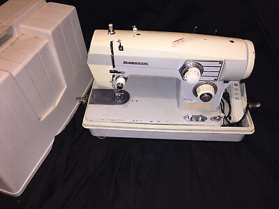 Vintage Domestic Sewing Machine Portable heavy duty commercial industrial