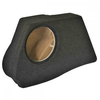"BMW 1 Series E87 Custom Fit MDF 10"" Rear Sub Box Subwoofer Enclosure Bass"