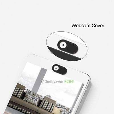1Pc Webcam Shutter Camera Protector Cover Shield for PC Laptop Tablet Tool Black