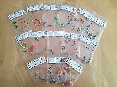 30 MIXED SEA FISHING RIGS by The Rig Shack. Great For Most Species Of Sea Fish.