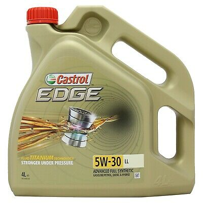 Castrol EDGE Titanium FST 5W-30 LL Full Synthetic Engine Oil 4 Litres 4L 5w30
