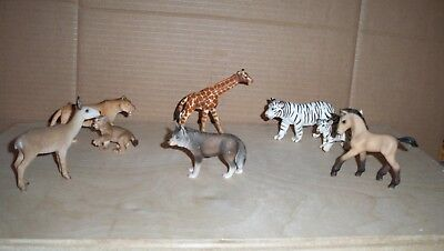 8 ASST SCHLEICH  Figures - VERY GOOD USED CONDITION SMOKE FREE HOME