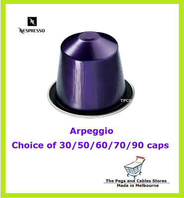 30 50 60 70 90 Capsules Nespresso Arpeggio Coffee Pods - Intensity 9