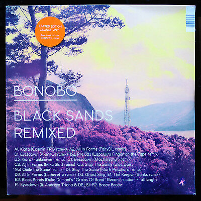 Bonobo Black Sands REMIXED - 3LP limited orange Vinyl - Neu&OVP - inkl. Download