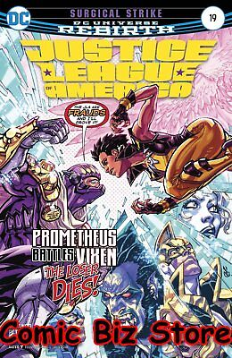 Justice League Of America #19 (2017) 1St Printing Dc Universe Rebirth