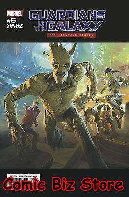 Guardians Of The Galaxy Telltale Series #5 (Of 5) (2017) Game Variant Cover