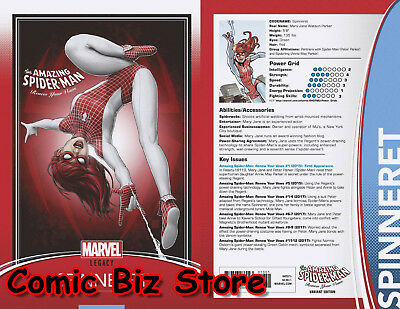 Amazing Spider-Man Renew Your Vow #13 (2017) Christopher Trading Card Var Legacy