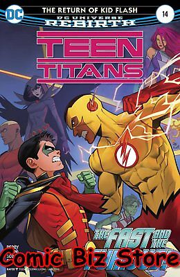 Teen Titans #14 (2017) 1St Printing Dc Universe Rebirth Bagged & Boarded