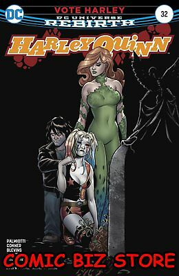 Harley Quinn #32 (2017) 1St Printing Bagged & Boarded Dc Universe Rebirth