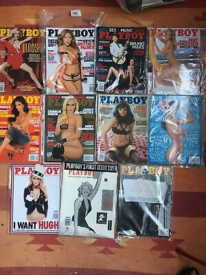 Playboy Magazine 2012 all ten issues + Marilyn Monroe special edition