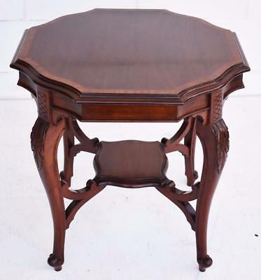 Victorian Mahogany Inlaid Occasional Table