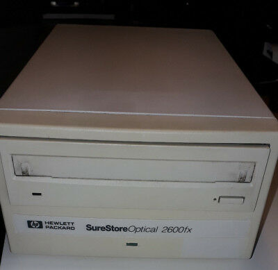 HP SureStore  Optical 2600fx
