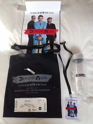 Depeche Mode 2017 Live Spirit Tour VIP bag poster lanyard keyring ticket poster