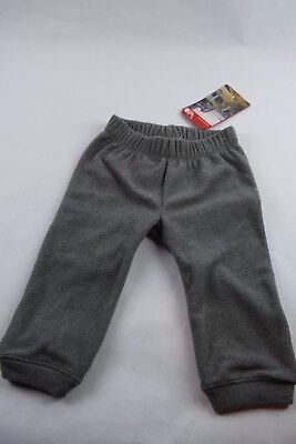 NWT! North Face Infant Glacier Pants Grey Heather sz 6-12M baby