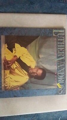 Luther Vandross – Give Me The Reason, Vinyl, LP, NL 1986, OIS, vg++