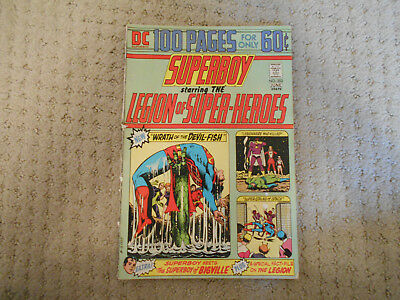 Superboy #202 (Jun 1974, DC)  Legion of Super Heroes, Mike Grell, Dave Cockrum