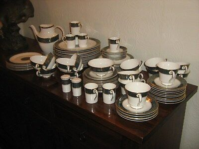 "Royal Doulton ""Carlyle"" dinner  service .  93 pieces"