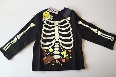 The Children's Place Toddler Boys  6 - 9 mos.Long Sleeve Glow Halloween