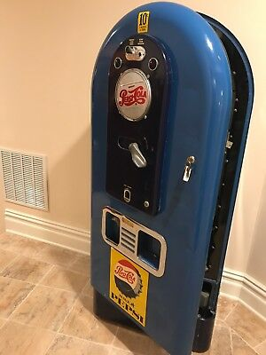 1950s Pepsi Jacobs 56 Light-up Vending Machine Soda Original
