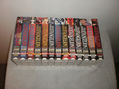 Neon Genesis Evangelion 1-13 Vhs [English Subtitled] Pre Owned