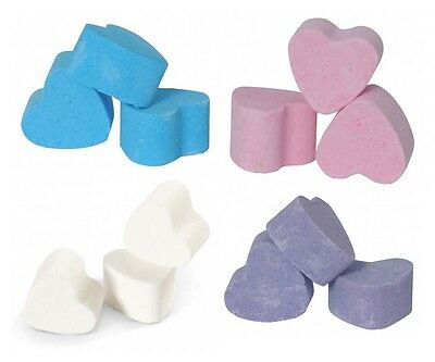 100 Heart Mini Bath Bombs