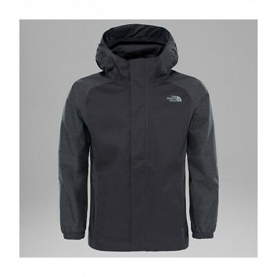 The North Face Boys Resolve Reflective Jacket (Graphite Grey)