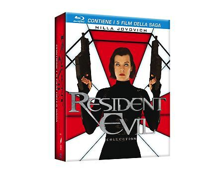 573489 Resident Evil Collection (5 Blu-Ray) (Blu-Ray)