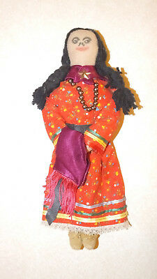 Vintage Southern Plains Indian Woman Doll