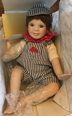 """1990 Knowles Madame Alexander """"Yesterdays Dream"""" 1st Issue Andy Doll"""