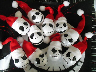 Santa Jack Nightmare Before Christmas Jack Skellington bauble Christmas decor