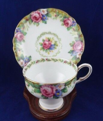 Vintage Paragon Teacup and Saucer Tea Cup Set Tapestry Rose