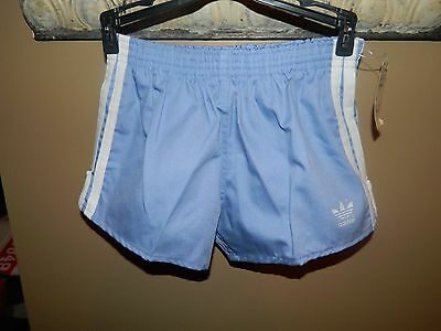 Vintage ADIDAS Trefoil Running Shorts Unisex Boys Girls Sz Youth XL 32-34 NWT!