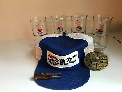 Vintage Charlotte Motor Speedway Collectibles Package~World 600 '60-'82 Winners