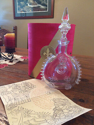 Louis XIII Remy Martin Cognac ~ 750ml Baccarat Crystal Decanter ( Empty Bottle)